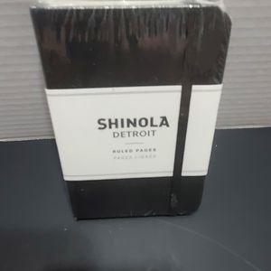 Shinola ruled hardcover notebook.  Small